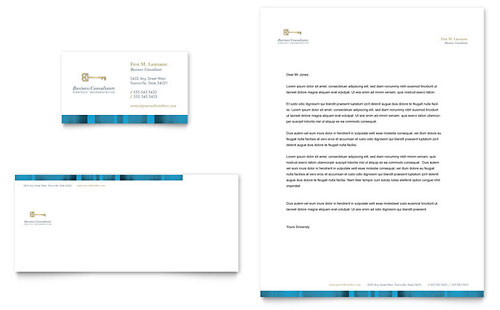 Attorney Letterhead Templates Word & Publisher