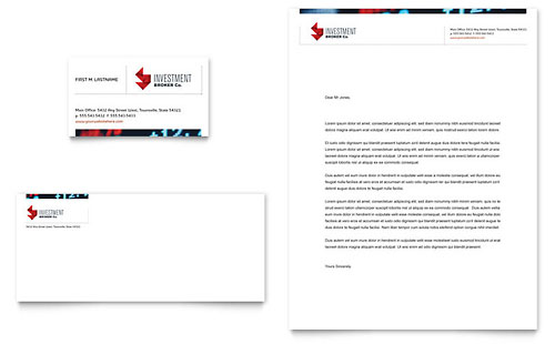 Banking | Letterhead Templates | Financial Services