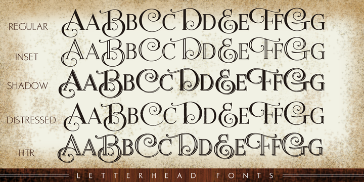 Letterhead Fonts « MyFonts