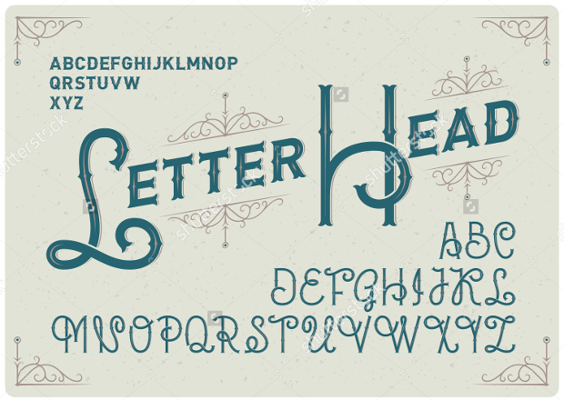 Best Font For Letterhead
