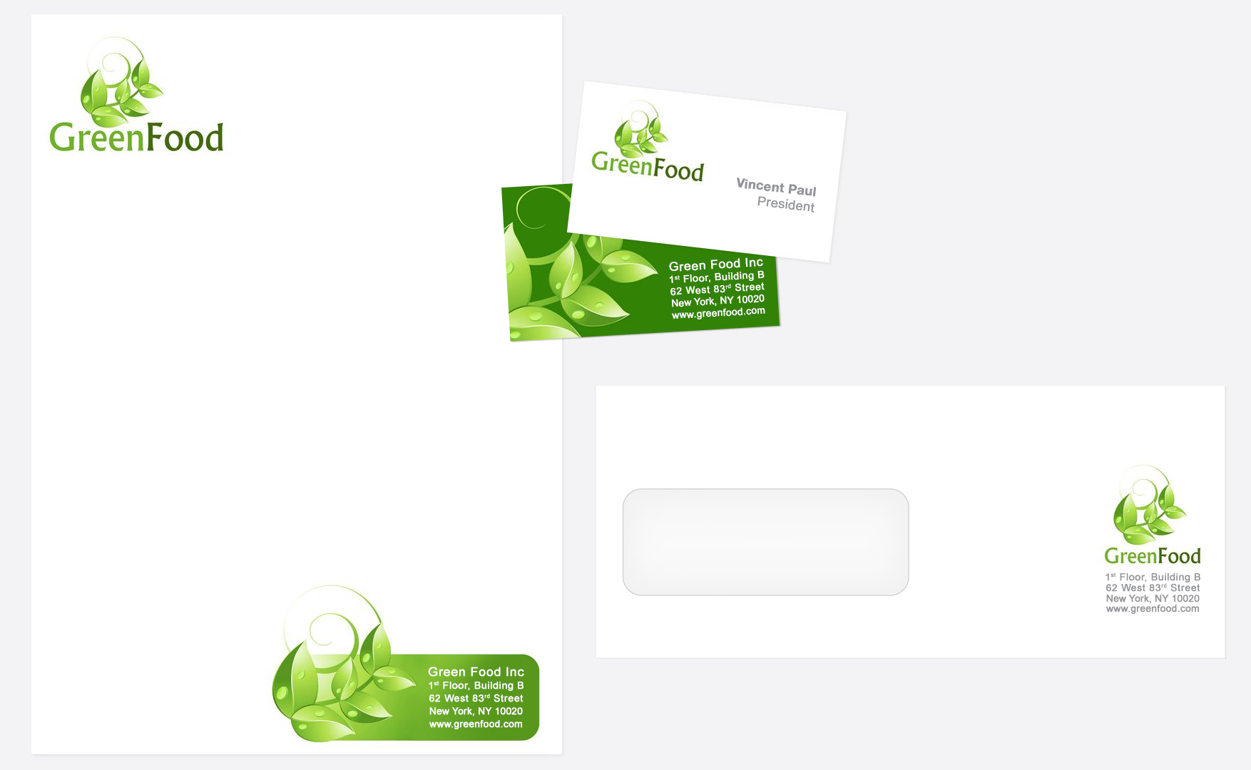 Letterhead, Business Cards and Envelopes: Conolly Printing