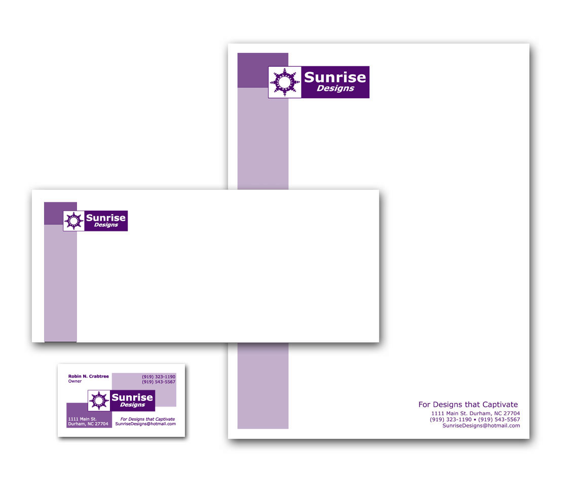 Identity Suite and Logo Letterhead Business Card Envelope Designs