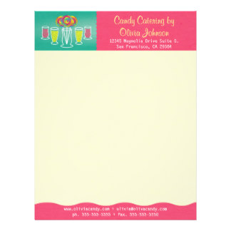 Catering Letterhead | Zazzle