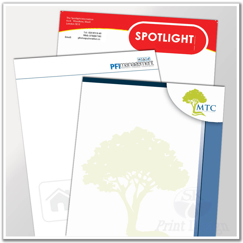 Cheap Letterhead Printing From £45 High Quality Letterhead Printers
