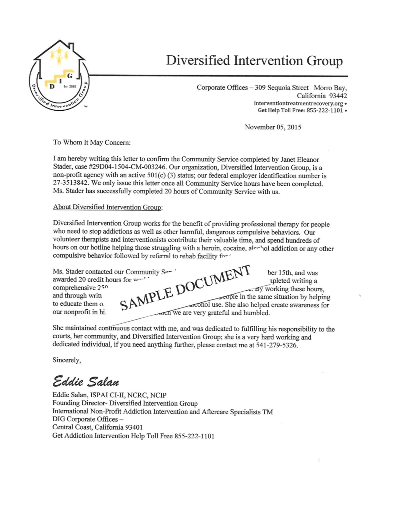 Sample Community Service Letter 22+ Download Free Documents in
