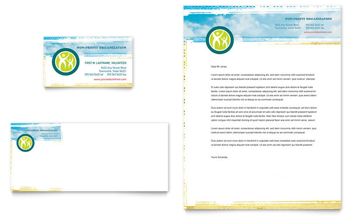 Community Service Letterhead Sample