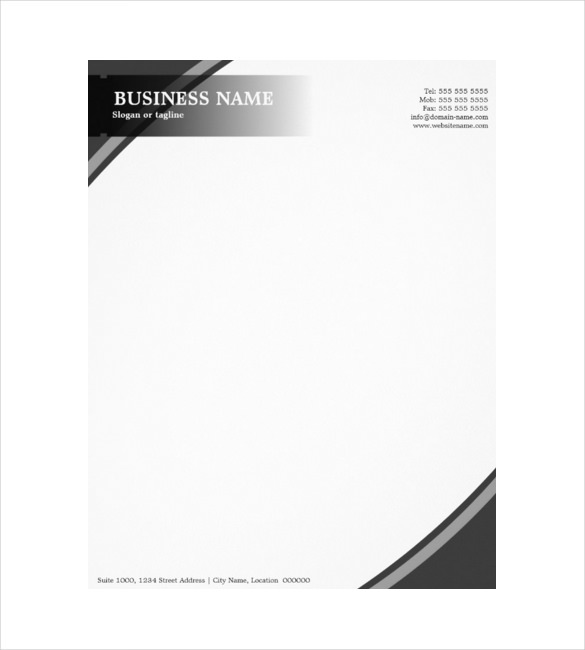 Construction company letterhead free printable letterhead for Free letterhead templates with logo