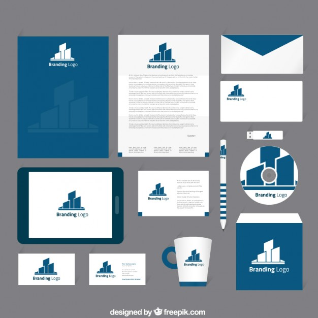 corporate identity template psd download