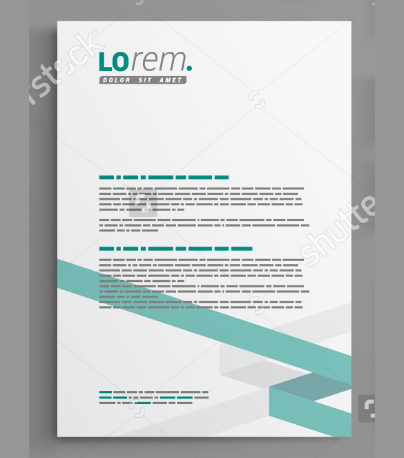 25+ Corporate Letterhead Templates 25+ Free PSD, EPS, AI