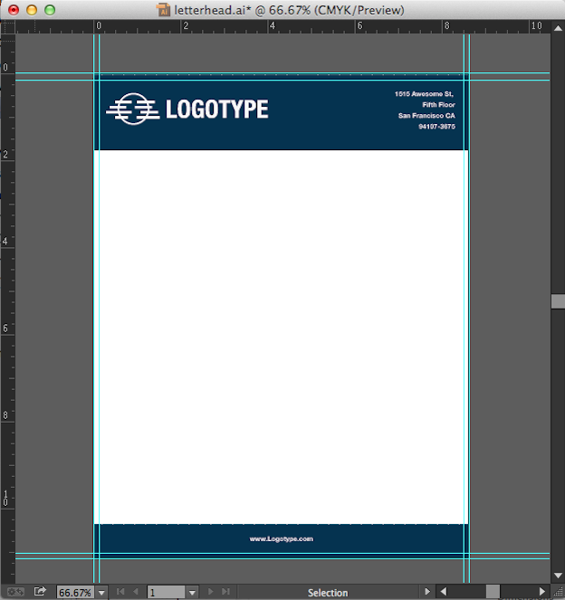 Create a Word Letterhead Template | Productivity Portfolio