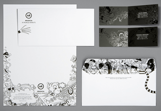 Letterhead Design & Print in Basingstoke, Hampshire