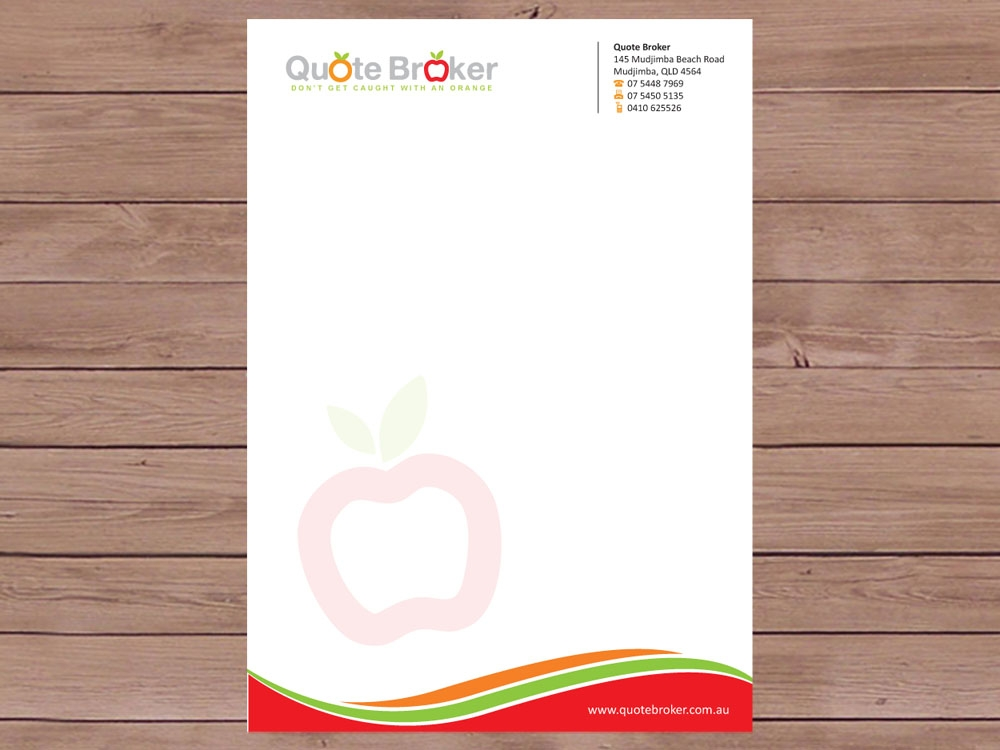 Design Your Own Letterhead
