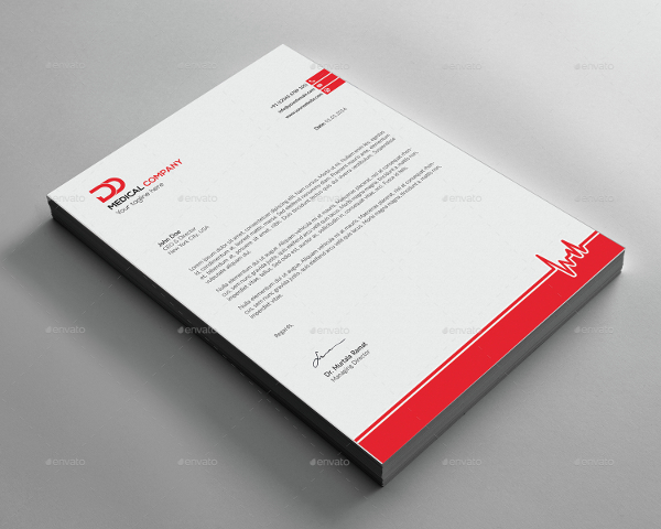 Letterhead Design for Wollongong Radio Doctor by Yas media