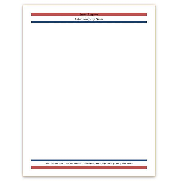 1000 Ideas About Free Letterhead Templates On Pinterest regarding