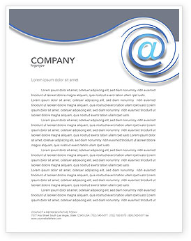 free business email letterhead stationery created online free