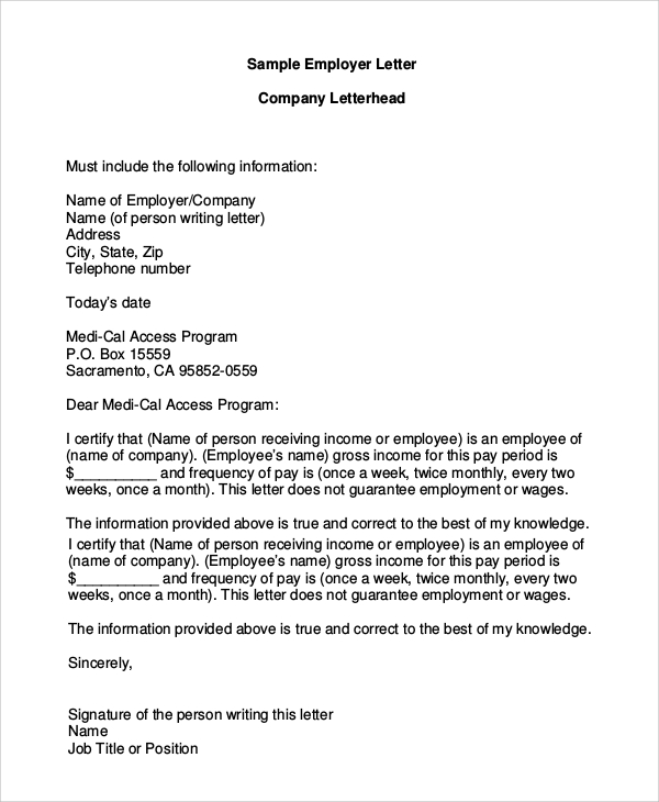 Sample Company Letterhead 8+ Examples in PDF, Word