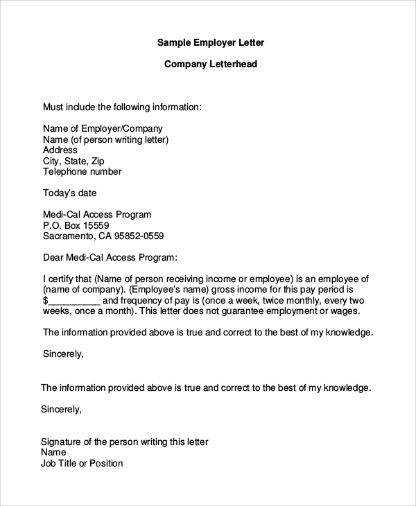 Letterhead Example 7+ Samples in PDF