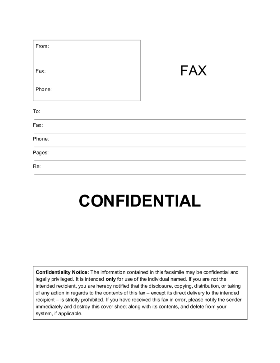 Business fax cover sheets Free Fax Cover Sheet