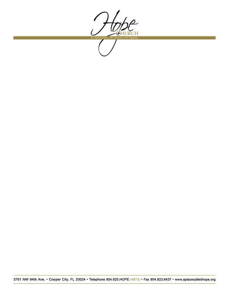 Free church letterhead templates free printable letterhead for Free letterhead template word