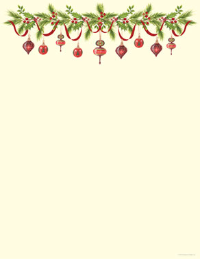 HOLIDAY LETTERHEAD PAPERS