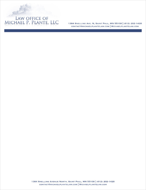 DIY Law Firm Letterhead, Using Microsoft Word Lawyerist