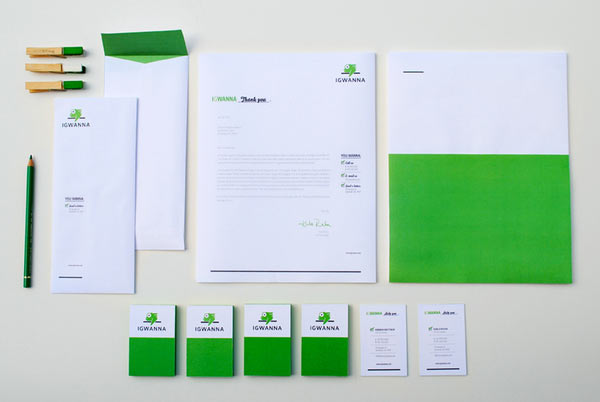 20 Inspiring Letterhead Designs | Web & Graphic Design | Bashooka
