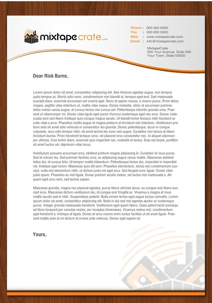 Letterhead Examples With Logo  Free Printable Letterhead