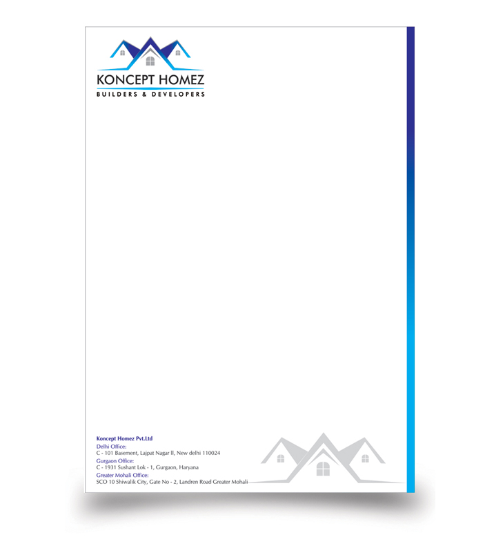 letterhead design on behance. finance letterhead design by