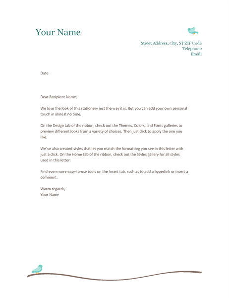 Head Letter. Letterhead Version 2. Letter Head. Letter Heads