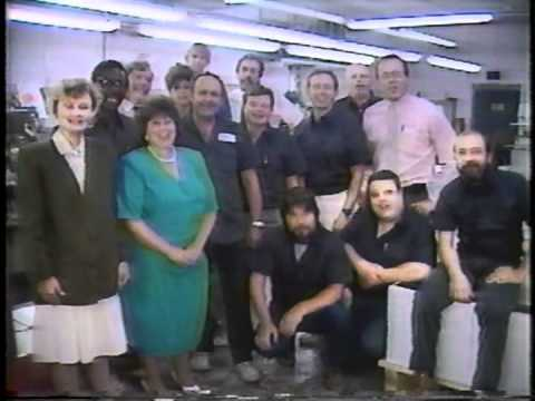 Letterhead Press 1990 on Channel 12 YouTube