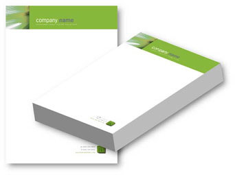 Custom Letterhead Designing and Printing by outsourcegraph on