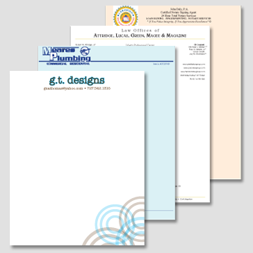 Letterheads Printing Services UK