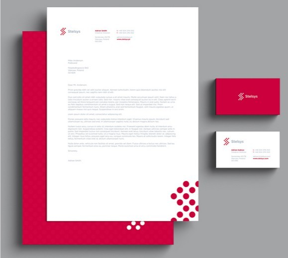 Psd Corporate Letterhead Template 000401: Free Printable Letterhead