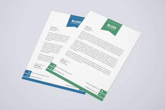 Letterhead Template Psd  Free Letterhead Templates Download