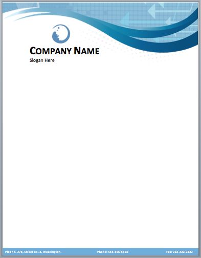 Free company letterhead template download friedricerecipe Image collections
