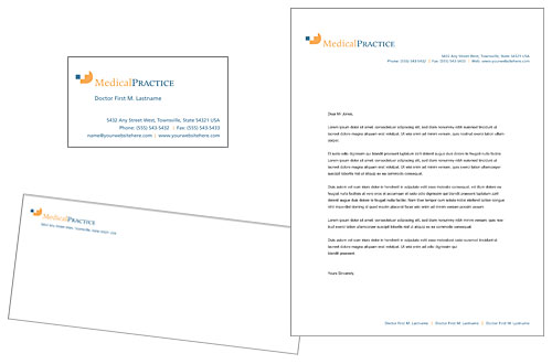 Medical letterhead templates | Papier firmowy | Pinterest
