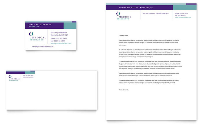 Medical Equipment | Letterhead Templates | Medical & Health Care