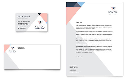 Medical & Health Care Letterheads | Templates & Designs