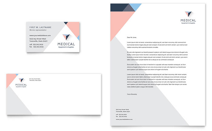 Medical & Health Care Letterheads