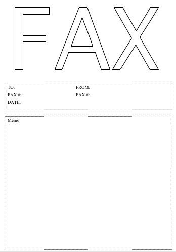 Big Fax Fax Cover Sheet at FreeFaxCoverSheets.net