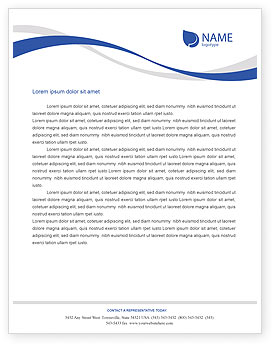 business letterhead template wordAirplane Letterhead Template