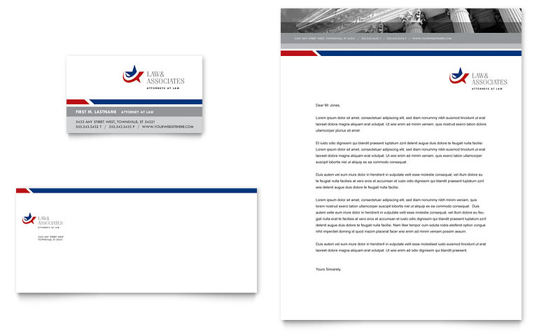Microsoft Office Letterhead Templates