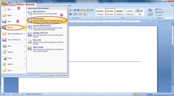 Create Business Letterhead in WORD 2007 and 2010?