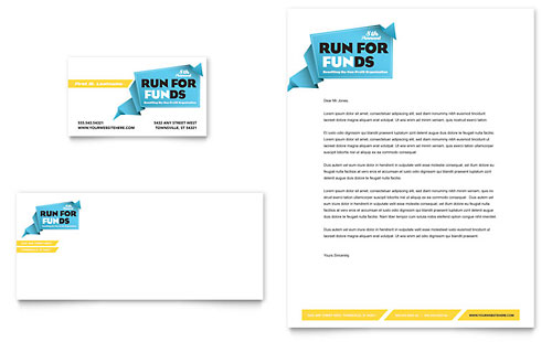 Non Profit Letterhead Templates Word & Publisher