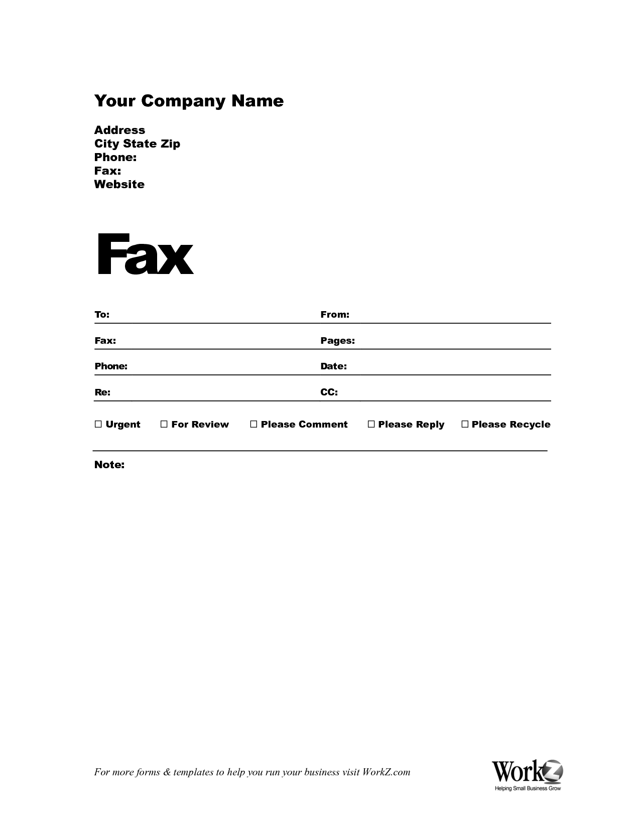 Elegant Fax Cover Sheet Docx With Fax Cover Page Templates