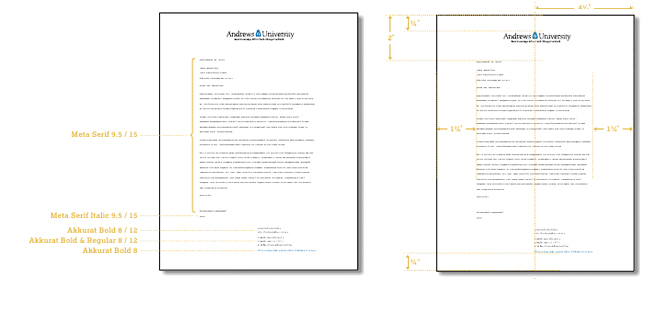 Letterhead :: Andrews University