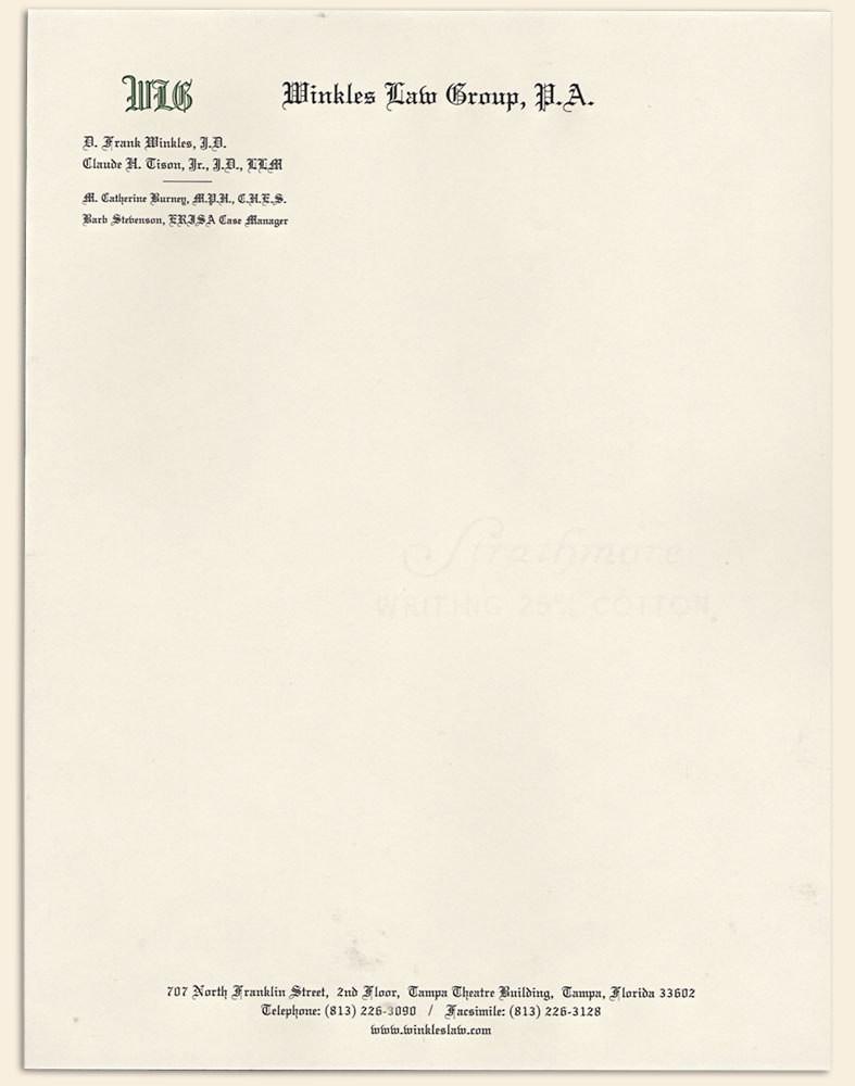 stationery letterhead