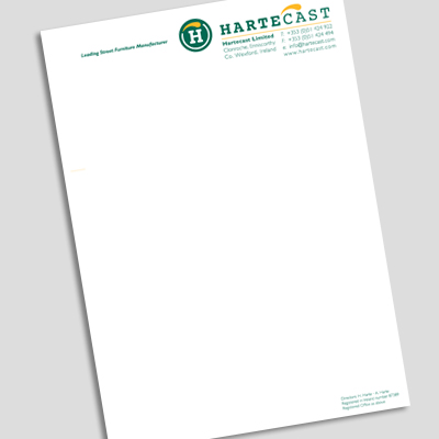 Professional Letterhead Paper from OnlinePrinting.ie 056 7765902