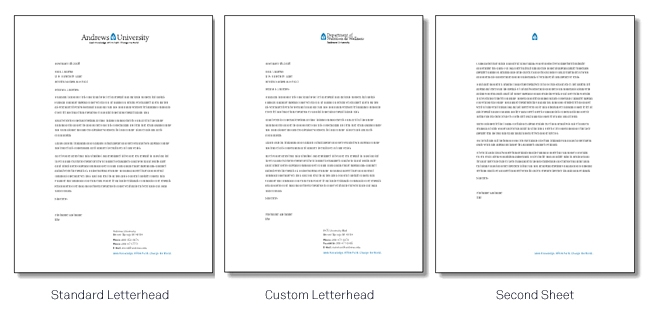 what is letterhead paper   Best Template & Design Images