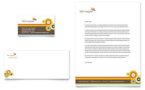 Superb Letterhead And Business Card Design